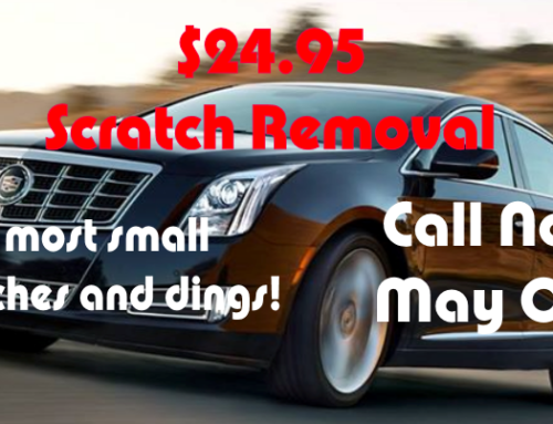 Scratch Removal only $24.95!