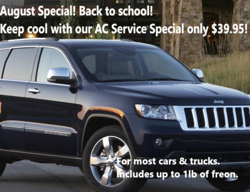 AC Service Special $39.95